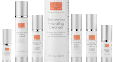 JAS Just Amazing Skincare Line